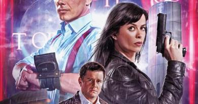 Torchwood #1 Cover B - Photo Variant by Will Brooks
