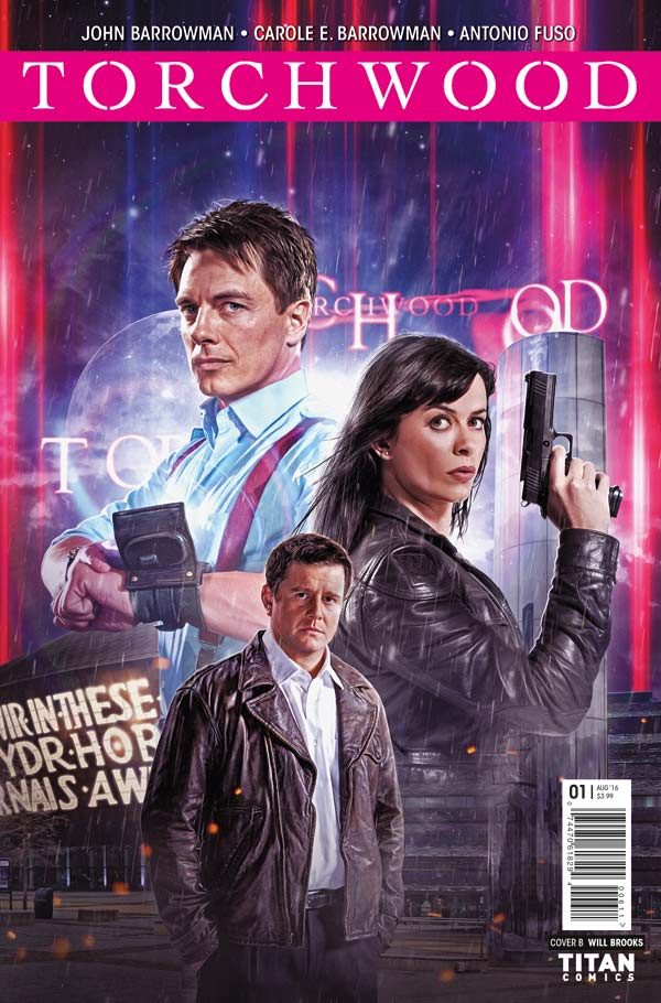 Torchwood #1 Cover B - Photo Variant