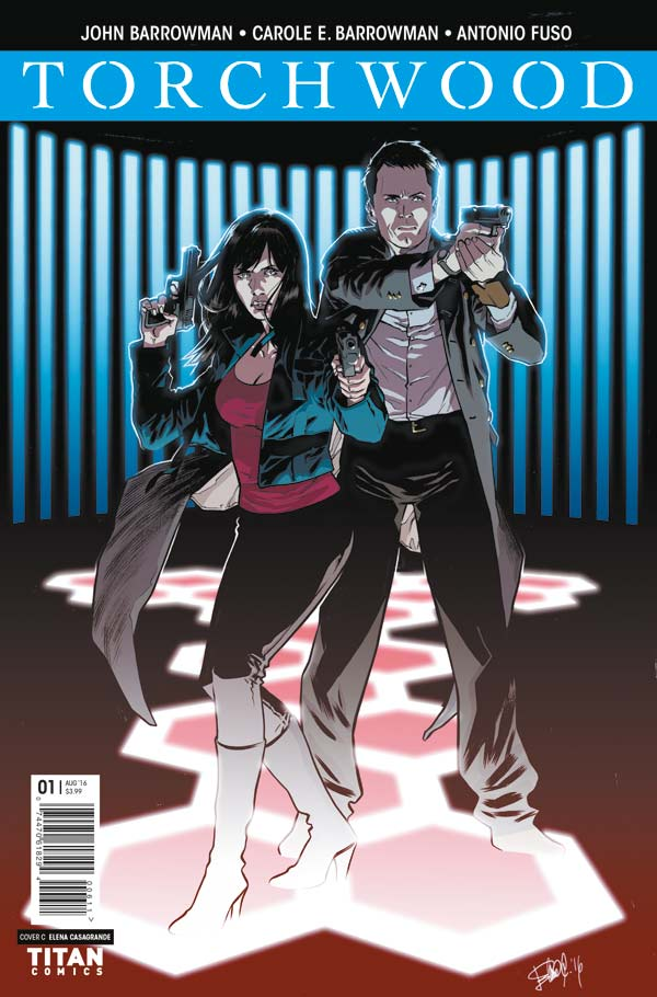 Torchwood #1 Cover C by Elena Casagrande