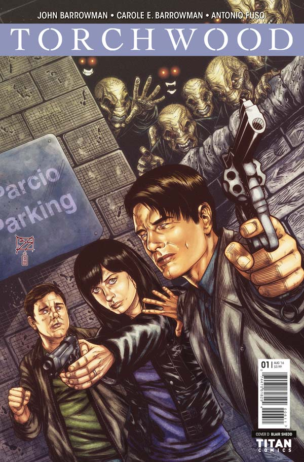 Torchwood #1 Cover D by Blair Shedd