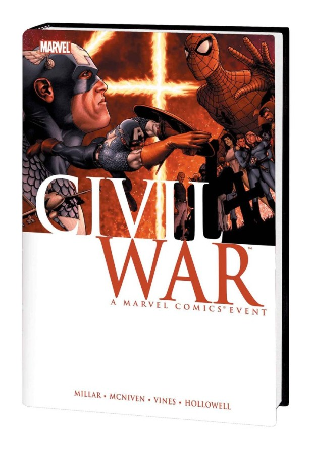 Civil War Hard Cover McNiven Cover New Printing