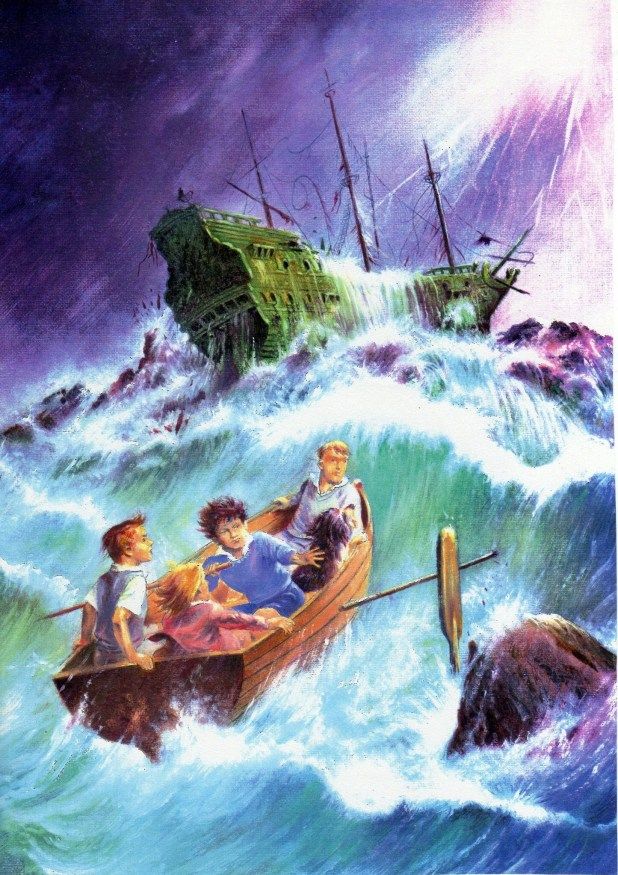 Art for by Mario Capaldi for Egmont's Enid Blyton Mystery and Suspense Magazine