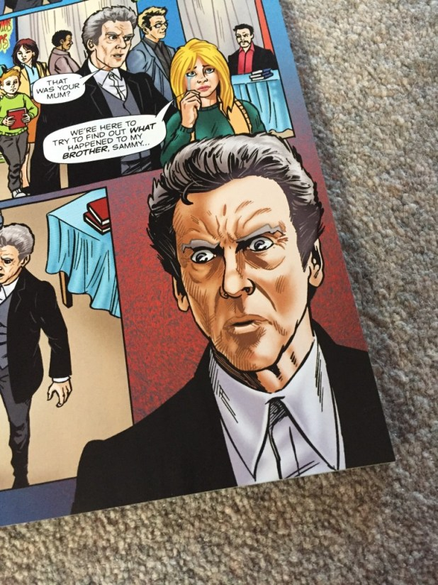 """Doctor Who Adventures #13 - """"Shock Horror"""" Detail"""