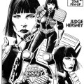 2000AD Pin Up: Judge Hershey