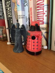 Doctor Who Adventures #13 Weeping Angel. And friend.
