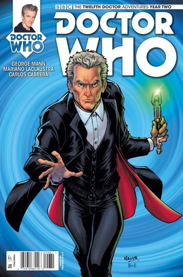 Doctor Who: The Twelfth Doctor Year Two #6 - Cover C by Todd Nauck & Hi-Fi