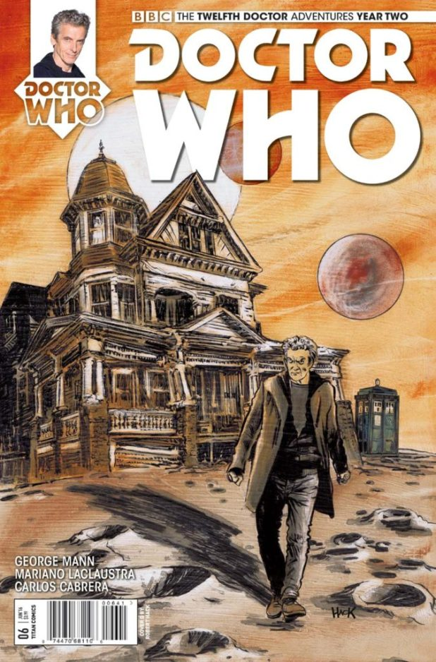 Doctor Who: The Twelfth Doctor Year Two #6 - Cover D by Robert Hack