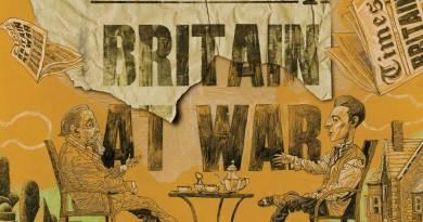 Black Dog - Britain At War. Art © Dave McKean
