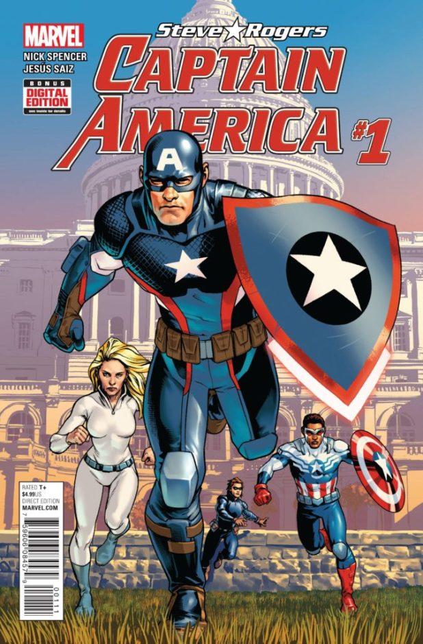 Captain America Steve Rogers #1