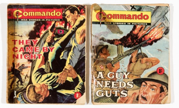 Commandos Issues 3 and 6