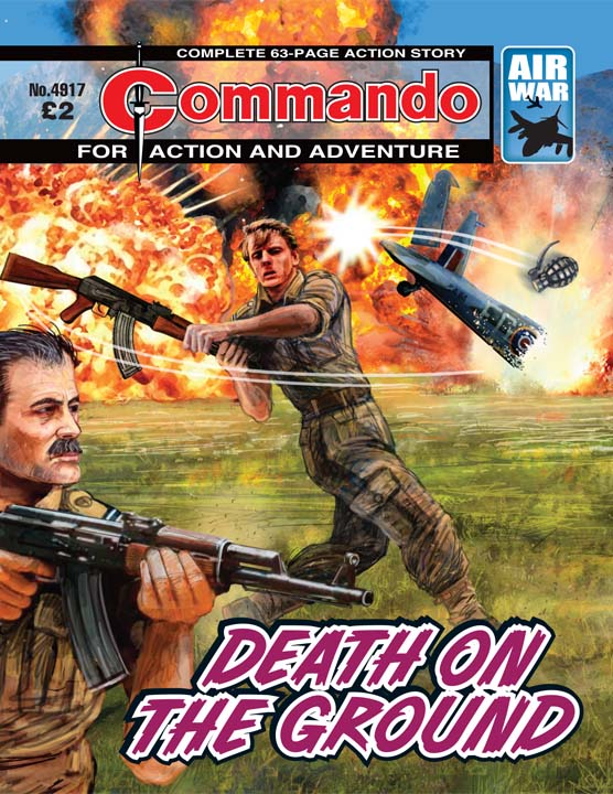 Commando No 4917 – Death On The Ground