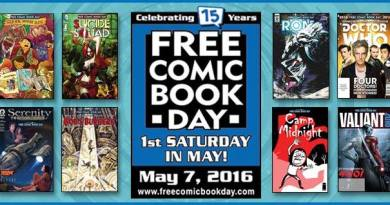 Free Comic Books Day 2016