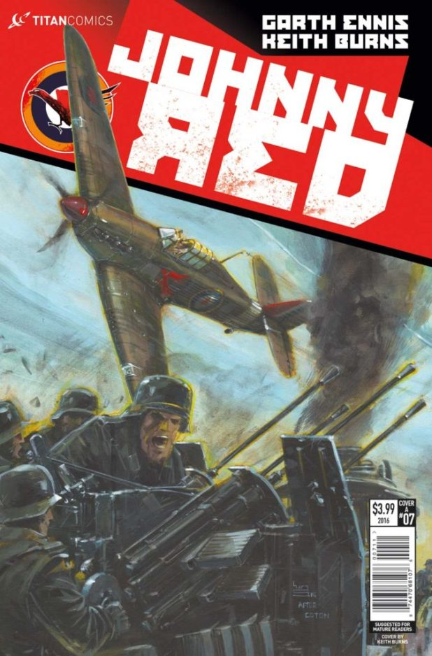Johnny Red #7 - Cover A
