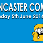 Lancaster Comics Day 2016 Banner