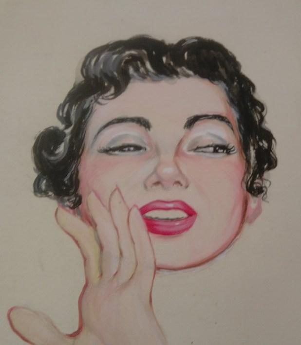 Psst! Art by Gordon Livingstone