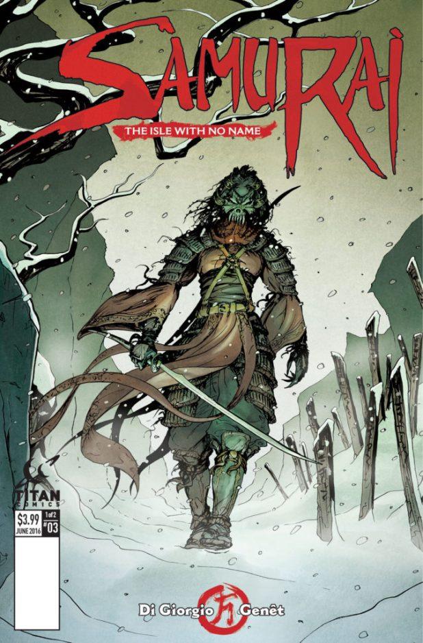 Samurai #3 - Cover A