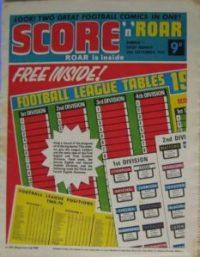 Score 'n' Roar Issue One