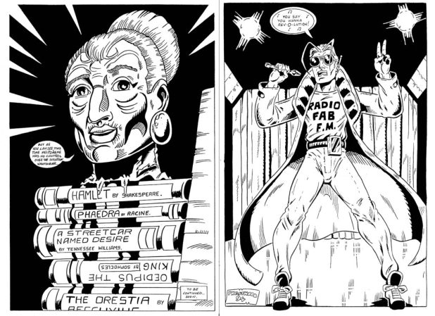 Stephen's work on Rol Hirst's Jock - courtesy of Nigel Lowrey
