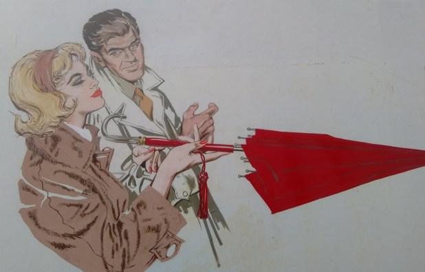 Umbrella. Art by Gordon Livingstone