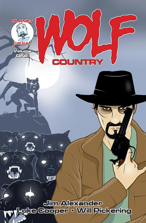 Wolf Country Cover