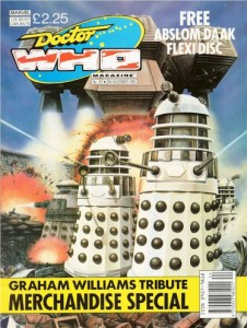 Doctor Who Magazine 167. Cover by Colin Howard