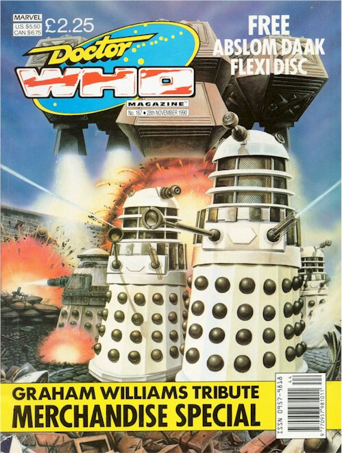 Doctor Who Magazine Issue 157 - Cover by Colin Howard