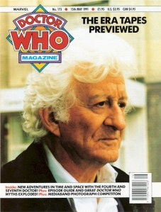 Doctor Who Magazine 173 - Published Cover