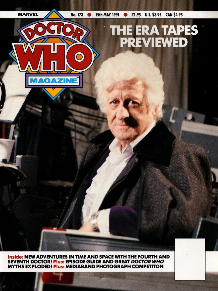 An unused cover design for Doctor Who Magazine Issue 173