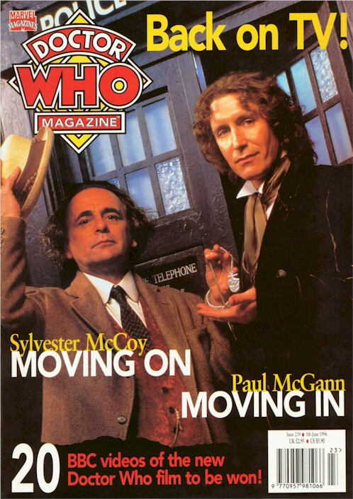 Doctor Who Magazine Issue 239
