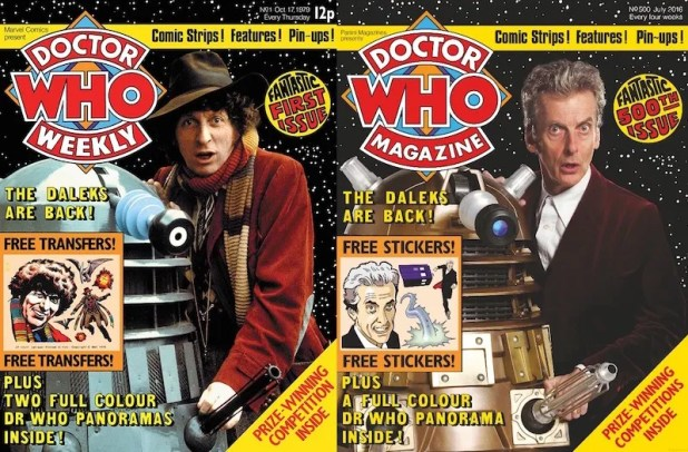 Doctor Who Weekly #1 - Doctor Who Magazine Supplement 500
