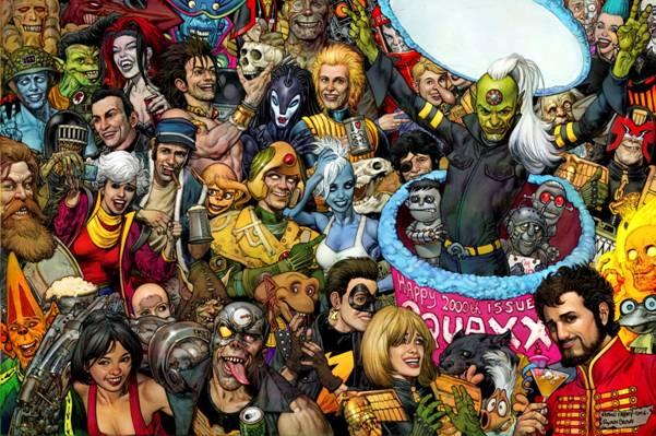 2000AD Prog 2000 - Glenn Fabry Cover (Art)