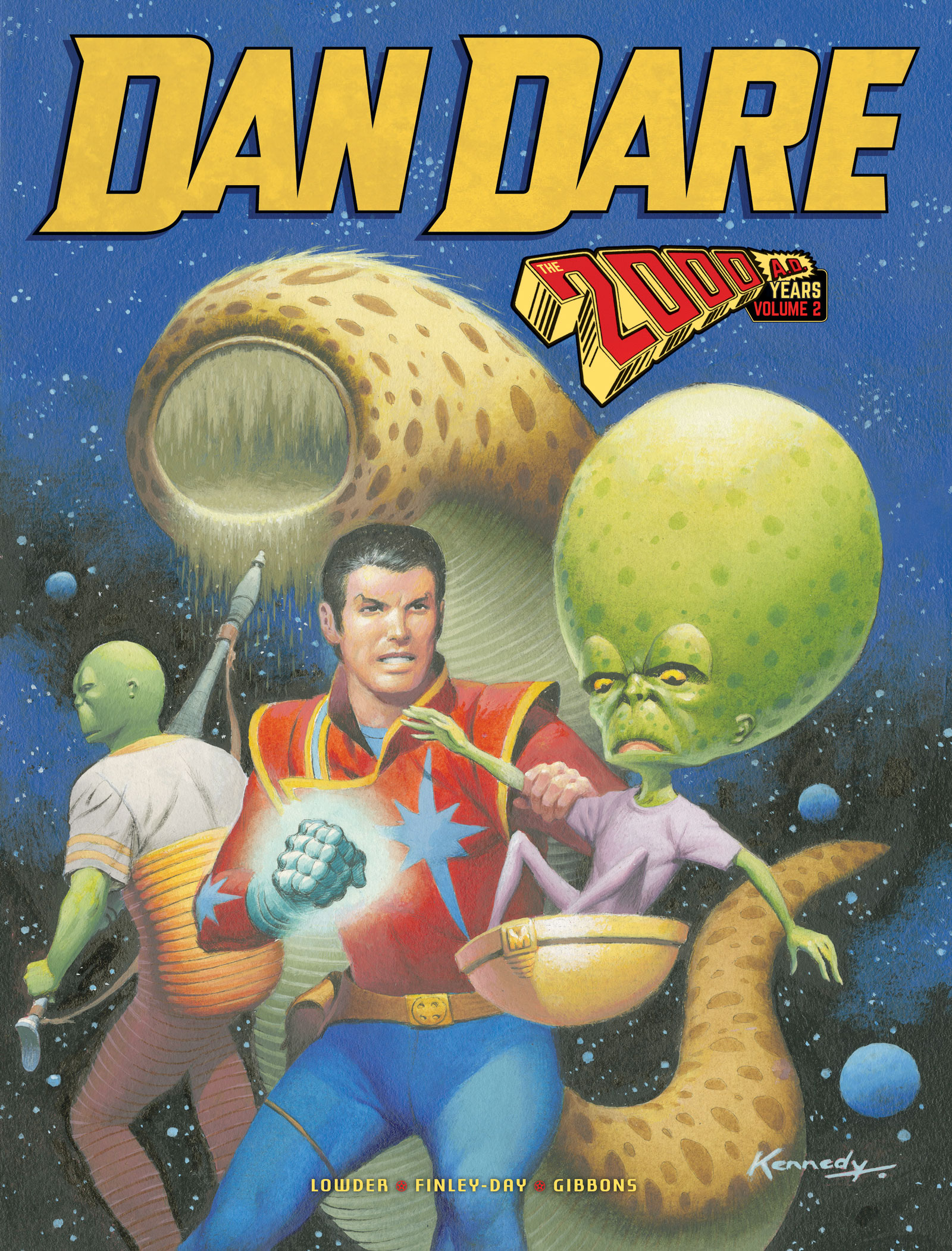 In Review: Dan Dare The 2000AD Years Volume Two