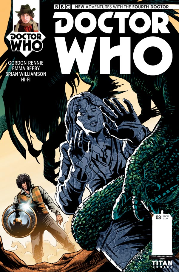 Doctor Who: The Fourth Doctor #3 - Cover A