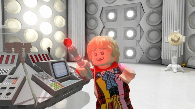 Doctor Who - LEGO Dimensions - The Sixth Doctor