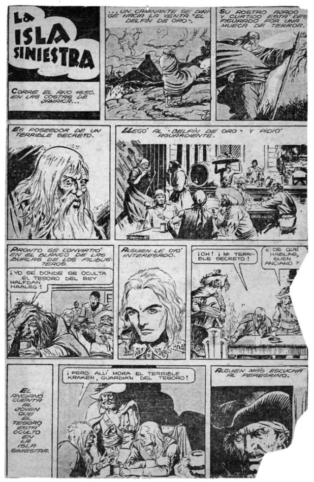 "An episode of ""Jean de la Martinica"", published in 1947"