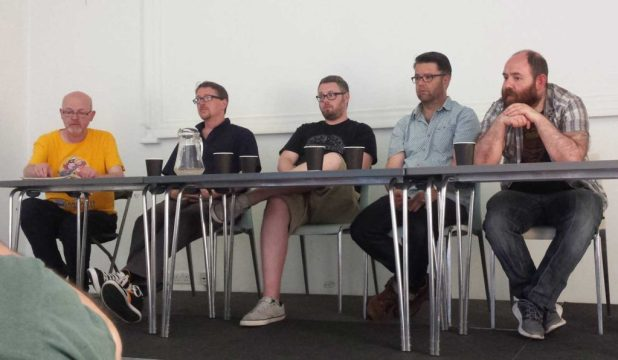 Talking superhero, adventures comics and more: John Freeman, Andy Diggle, Tom Ward, Sean Phillips and Alex Paknadel