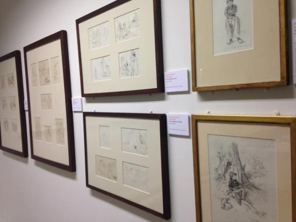Art in the Beatrix Potter's Inspiring Legacy exhibition at Kendal Museum. Image: Kendal Museum