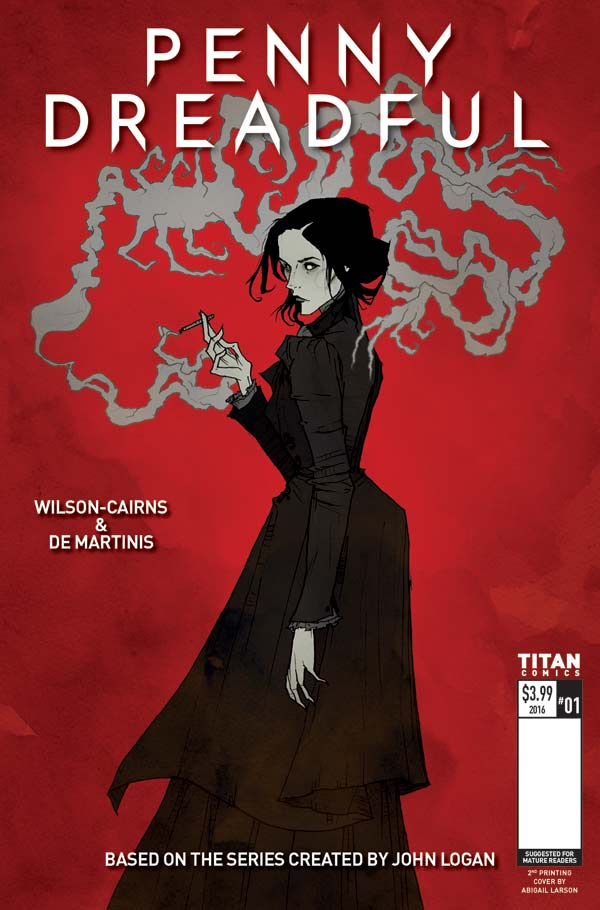 Penny Dreadful #1 - Second Printing
