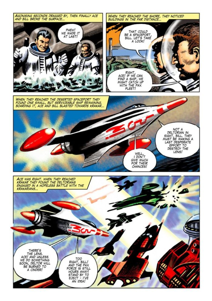 """Space Ace Volume 6 - """"The Lens"""" Page 7"""