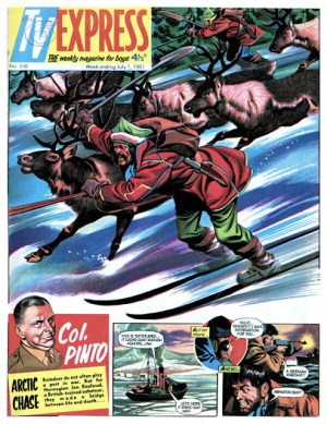 TV Express Issue 348 (cover dated 1st July 1961)