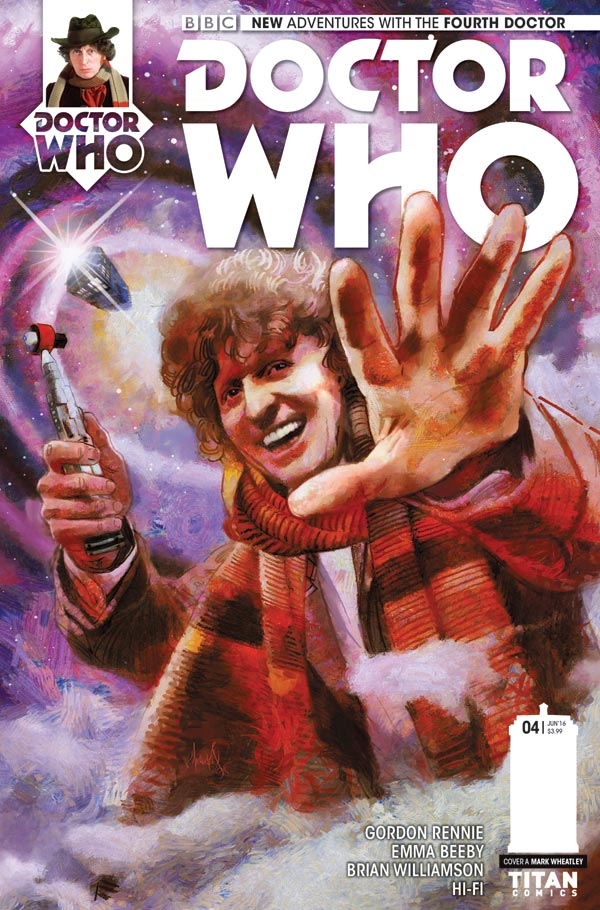 Doctor Who: The Fourth Doctor #4 - Cover A