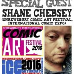 Episode 54 - Shane Chebsey and Shrewsbury Comic Arts Festival