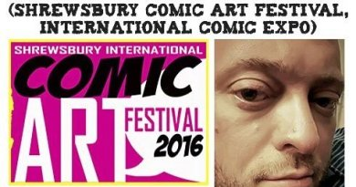Episode 54 - Shane Chebsey and Shrewsbury Comic Arts Festival