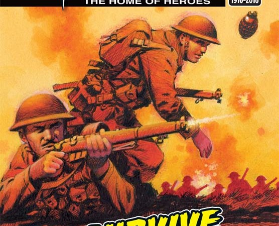 Battle of the Somme marked in new Commando comic