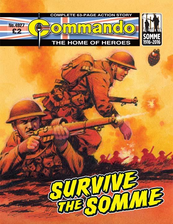 Commando No 4927 – Survive The Somme