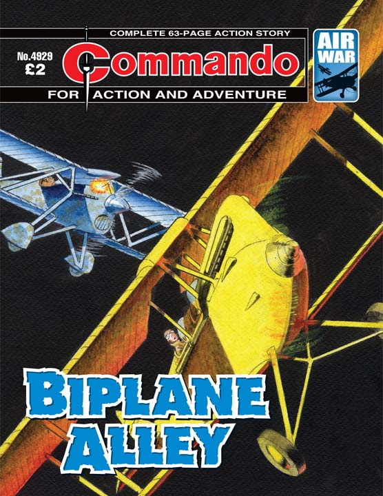 Commando No 4929 – Biplane Alley