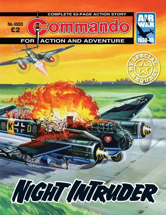 Commando No 4933 – Night Intruder
