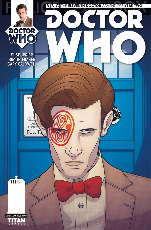 Doctor Who: The Eleventh Doctor Year 2 #11 - Cover A