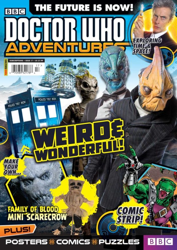 Doctor Who Adventures - Cover