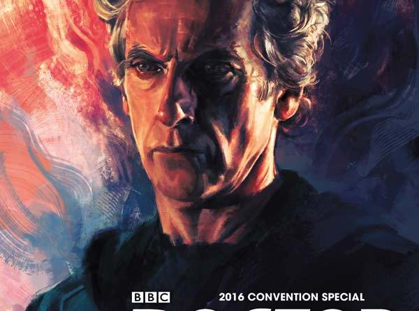 Doctor Who 2016 San Diego Comic Convention Special - Cover A by Alice X Zhang